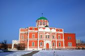 Church of the Epiphany at territory of Kremlin. Tula, Russia
