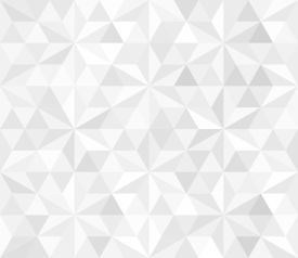 stock photo of parallelepiped  - Retro pattern of geometric shapes - JPG