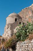 Medieval Walled Town Of Monemvasia poster