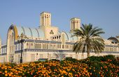 Central Souq In Sharjah City poster