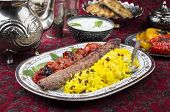 stock photo of kababs  - kabab - JPG