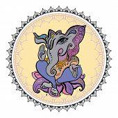 stock photo of hindu  - Hindu God Ganesha - JPG