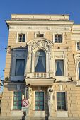 stock photo of palace  - The facade of the palace at the Palace Embankment in St - JPG