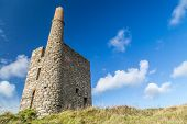 pic of dong  - Ding dong tin mine in cornwall england UK - JPG