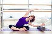 stock photo of pilates  - fitness - JPG