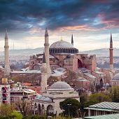 foto of constantinople  - Hagia Sophia in Istanbul - JPG