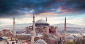 image of constantinople  - Hagia Sophia in Istanbul - JPG