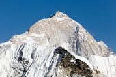 image of passed out  - View of mount Makalu  - JPG
