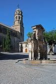 stock photo of baeza  - Cathedral Church of the Nativity of Our Lady  - JPG