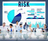 stock photo of hazard  - Risk Danger Hazard Problem Choice Concept - JPG
