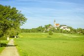picture of bavaria  - An image of the famous monastery Andechs in Bavaria Germany - JPG