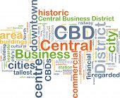 picture of cbd  - Background concept wordcloud illustration of central business district CBD - JPG
