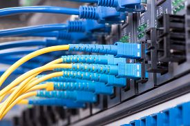 picture of cisco  - Data transfer by optical fibre information technology - JPG