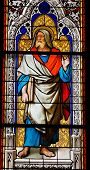 stock photo of koln  - Church window in the Dom of Cologne - JPG