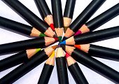 pic of storyboard  - a image of a color pencils for used - JPG