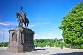 ������, ������: The monument to Prince Vladimir in summer Russia