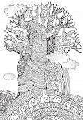 Baobab Tree. African Tree. poster