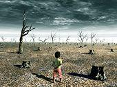 Постер, плакат: Глобальное потепление 1