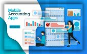 Accounting Companies Provide Mobile Accounting Apps Services For All Payroll Accounting Services. Th poster