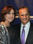 NEW YORK-JAN 24: Joe Torre and wife Ali attend the 10th Anniversary Joe Torre Safe At Home Foundatio