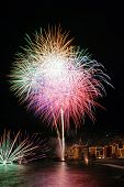 pic of patron  - Annual fireworks in the village Camogli - JPG