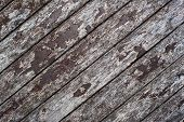 Wooden decking decaying