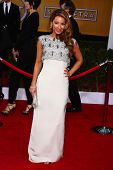 LOS ANGELES - JAN 27:  Vanessa Lengies arrives at the 2013 Screen Actor's Guild Awards at the Shrine