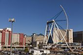 The High Roller Construction In Las Vegas, Nv On August 11, 2013