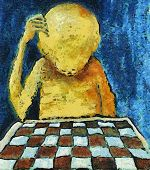 Lonesome Chess Player