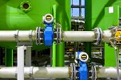 picture of hydrogen  - Industrial equipment of oil and gas branch - JPG