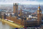 stock photo of westminster bridge  - Big Ben and Houses of Parliament London UK - JPG