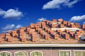 foto of slating  - Ceramic Roof Slates Works - JPG
