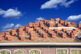 pic of slating  - Ceramic Roof Slates Works - JPG