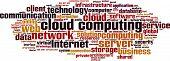 picture of supercomputer  - Cloud Computing word cloud - JPG