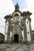 pic of minos  - Chapel of San Telmo in Portuguese baroque style in the center of Tui Galicia Spain - JPG