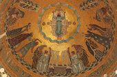 picture of empty tomb  - Resurrection of Jesus - JPG
