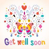 picture of get well soon  - Lovely  - JPG