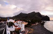 foto of canary  - Sea Village at the Spanish Canary Islands.