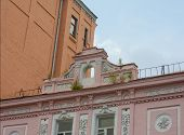 foto of kiev  - Architectural elements on the st - JPG