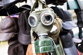 pic of gas mask  - Gas mask for sale as a souvenir on a street in Budapest - JPG