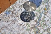 picture of cartographer  - Compass map - JPG