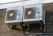 picture of air conditioning  - external part of an air conditioning unit - JPG