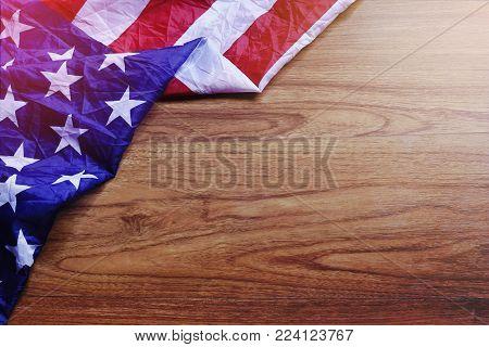 USA Flag on