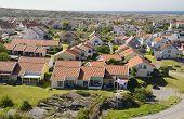 Small Coastal Village In Scandinavia At Summer, Kungshamn - Sweden poster