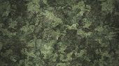 Texture Military Camouflage Army Green Hunting Illustration poster