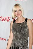 LAS VEGAS - APR 26:  Anna Faris arrives at the CinemaCon 2012 Talent Awards at Caesars Palace on Apr