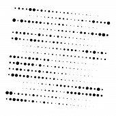 Dots, Half-tone Element. Speckle, Stipple Geometric Pattern. Circles Halftone Pattern. Polka Dots, S poster