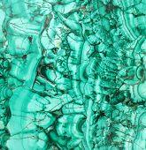 picture of malachite  - Texture of a green malachite - JPG