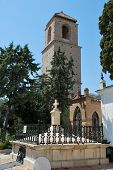 Church tower, Alora, Andalusia, Spain.
