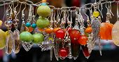 Colorful Stone Earrings Pendants